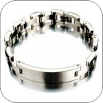 Sterling Mens ID Bracelets