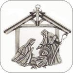 Salisbury Pewter Ornaments