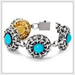 Repoussé Bracelets