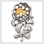 Repoussé Pins & Brooches