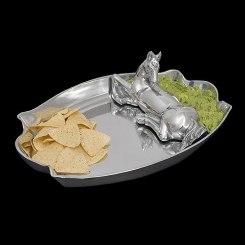Boardmans Wedding Gift Registry: Arthur Court Horse Figural Chip & Dip Serving Tray