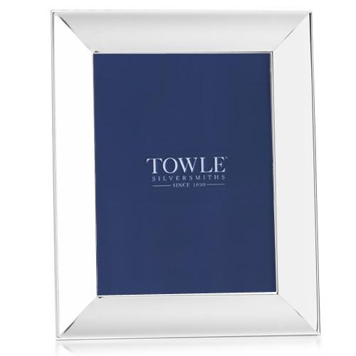Boardmans Wedding Gift Registry: Towle Wide Border Scoop Picture Frames