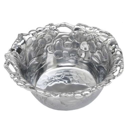 Arthur Court Grapevine Nut Bowl