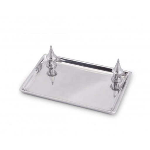 Arthur Court Kentucky Derby Churchill Downs Spires Tray - Engrave it at SilverGallery.com