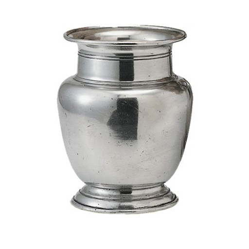 Match Pewter Rimmed Vase - Small