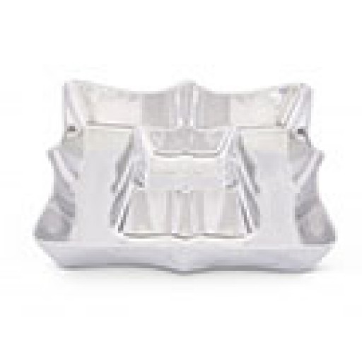 Arthur Court Scallop Chip & Dip Tray - Available from SilverGallery.com