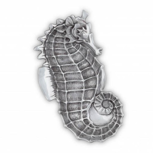 Arthur Court Seahorse Catch-All Tray - Available from SilverGallery.com