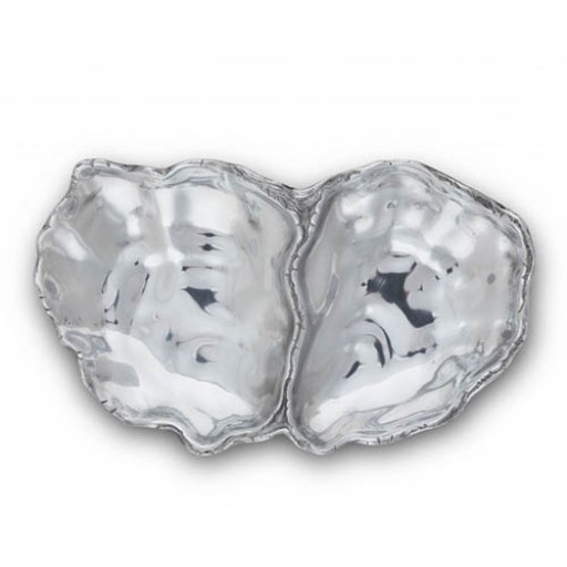 Arthur Court Oyster Catch-All Tray - Available from SilverGallery.com