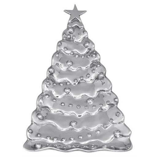 Mariposa Christmas Tree Server - Silver