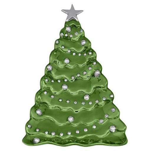 Mariposa Christmas Tree Server - Green