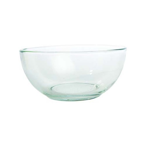 Salisbury Classic Plain Glass Dip Bowl - Available from SilverGallery.com