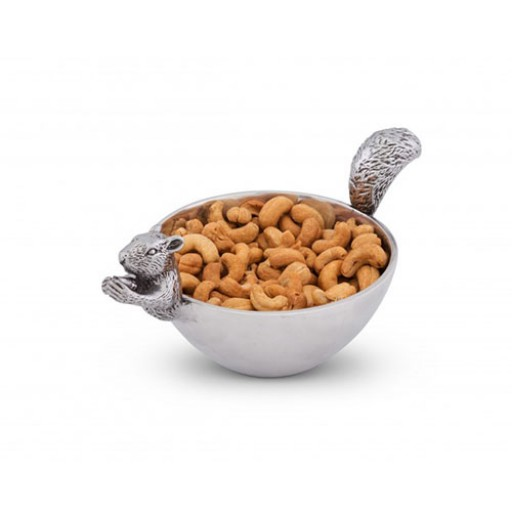 Small Arthur Court Squirrel Nut Bowl - Available from SilverGallery.com