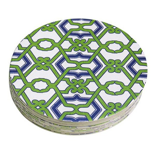 Mariposa Jacki Beaded Coaster Set Refill - Pack of 12 - Available from SilverGallery.com