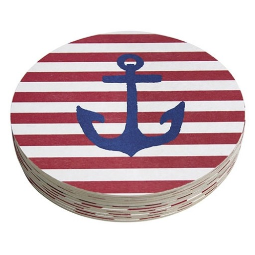 Mariposa Anchor Coaster Refills - Pack of 12