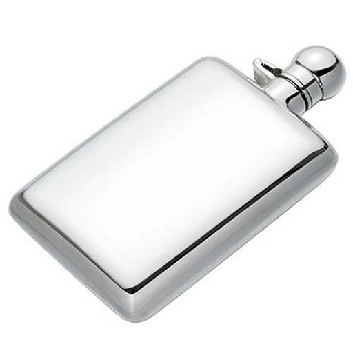 Cunill Sterling Silver Hip Flask