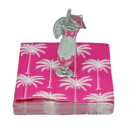 Mariposa Tropical Cocktail Weight and Napkin Set