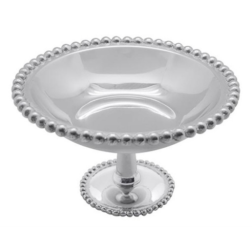 Mariposa Pearled Footed Candy Dish - Small - Available from SilverGallery.com