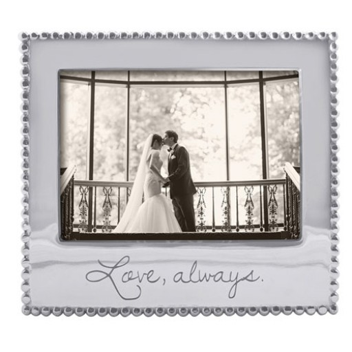 """Mariposa """"Love, always"""" Picture Frame - 5 x 7"""