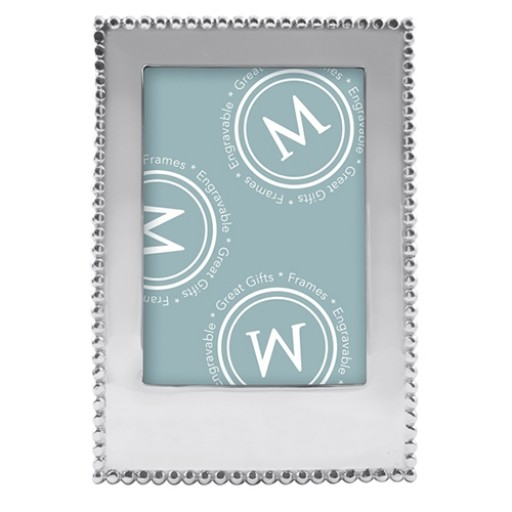 Mariposa Engravable Blank Vertical Statement Frame - 5 x 7