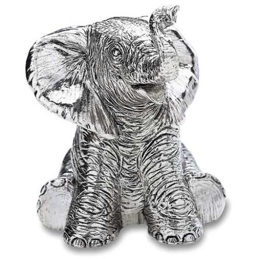 Reed and Barton Baby Elephant Music Box