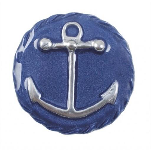 Mariposa Anchor Emblem Napkin Weight - Blue
