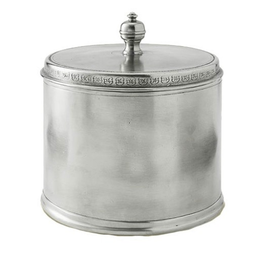 Match Pewter Lidded Canister - Medium