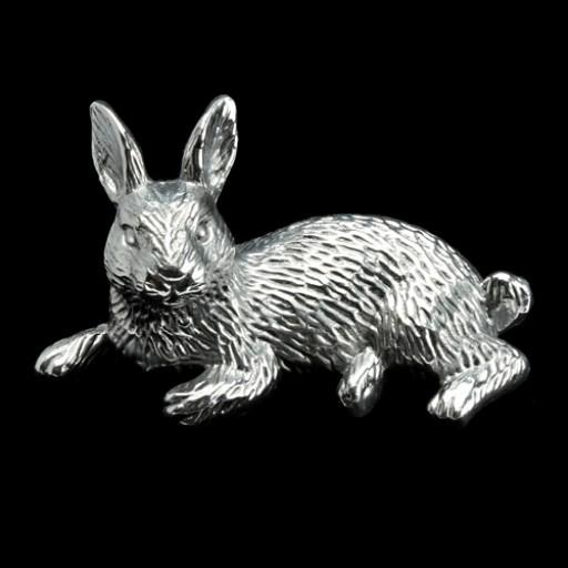 Arthur Court Rabbit Napkin Weight
