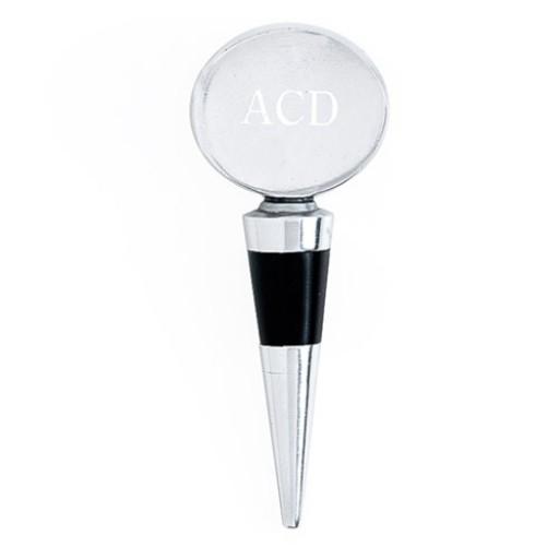 Arthur Court Engravable Oval Bottle Stopper