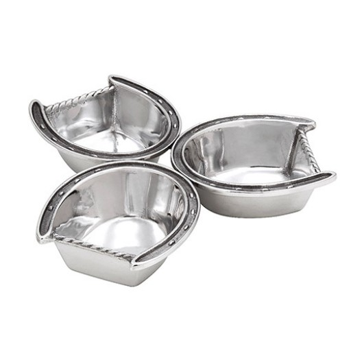 Arthur Court Horseshoe 3-Bowl Server