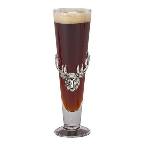 Arthur Court Antler Pilsner Glass