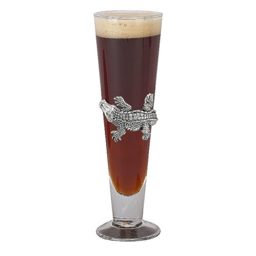 Arthur Court Alligator Pilsner Glass