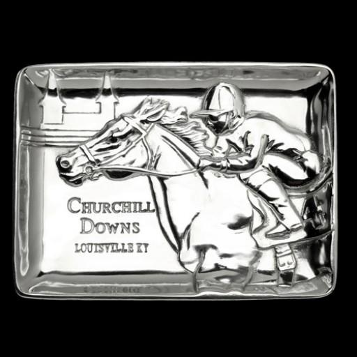 Arthur Court Kentucky Derby Churchill Downs Catch-All Tray