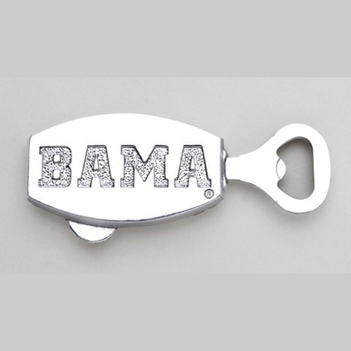 University of Alabama Bottle Opener