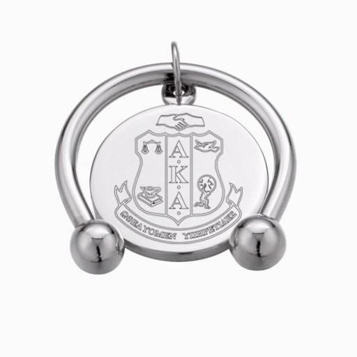 AKA Keychain with Round Disc