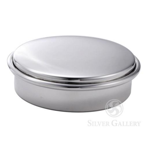 Boardman Sterling Silver Round Ring Box