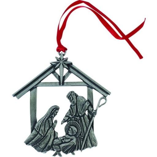 Salisbury Pewter Traditional Nativity Ornament
