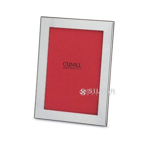 Sterling Silver Plain Picture Frame from Cunill - 8 x 10