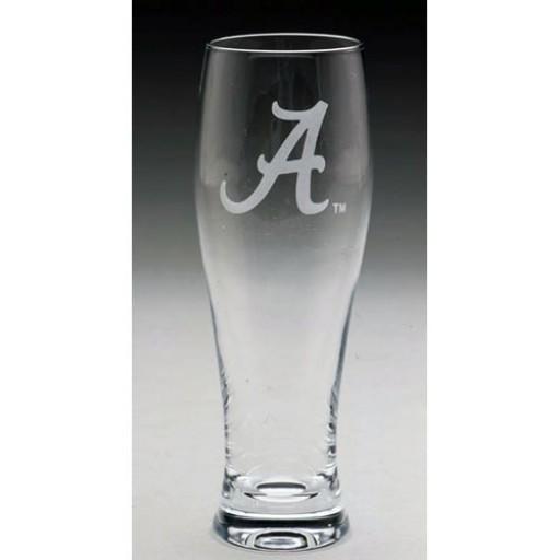 Arthur Court University of Alabama Pilsner Glass
