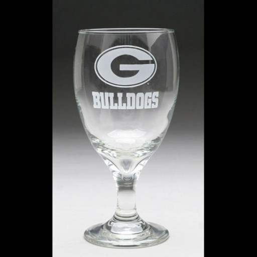 University of Georgia Water Glass