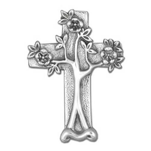 Tree Cross Brooch