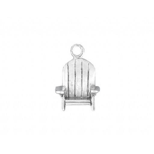Sterling Silver Adirondack Chair Charm