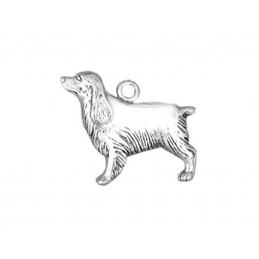 Sterling Silver Cocker Spaniel Charm