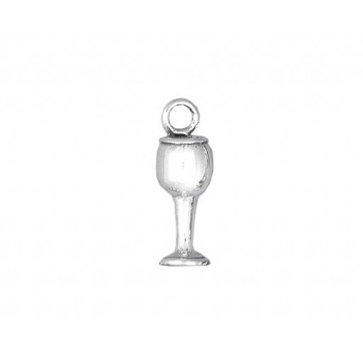 Sterling Silver Wine Glass Charm