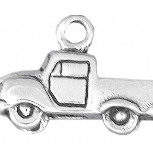 Sterling Silver Pickup Truck Charm