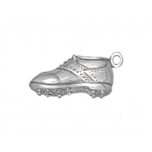Sterling Silver Golf Shoe Charm