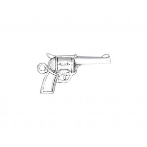 Sterling Silver Pistol Charm