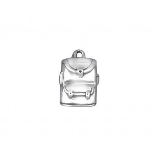 Sterling Silver Back Pack Charm
