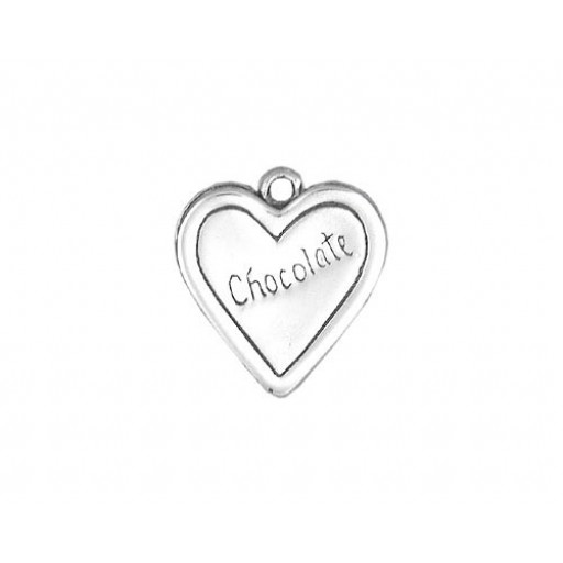 Sterling Silver Box Of Chocolate Charm
