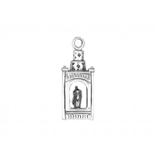 Sterling Silver Lantern Charm