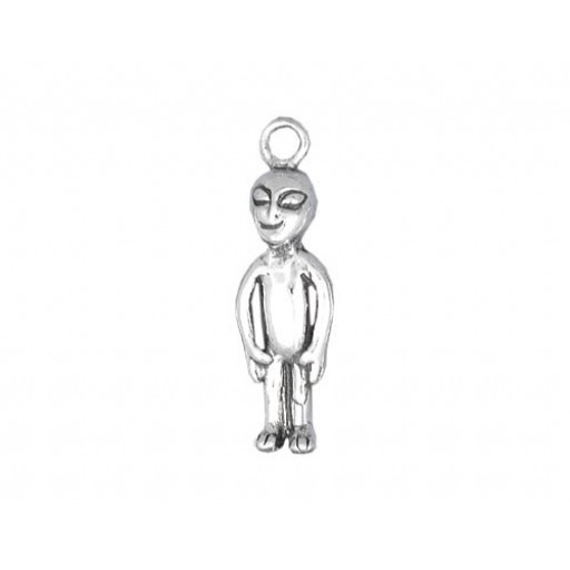 Sterling Silver Alien Charm